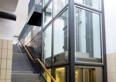 výtahové šachty